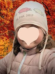 Демисезонная шапочка ZARA The pink sheep 3-5 лет