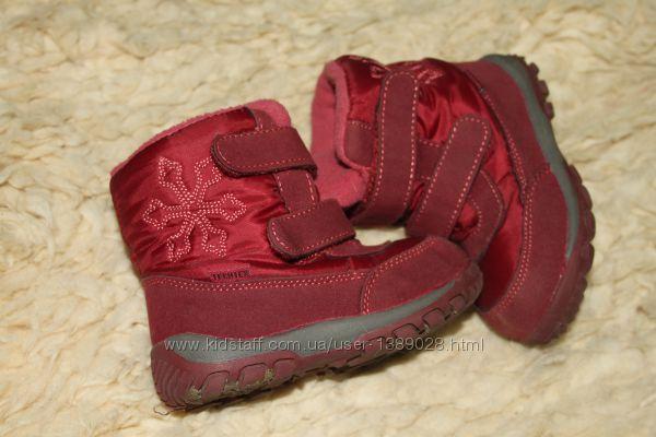 Зимові сапожечки для дівчинки