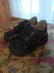 Кожаные ботинки 20р. унисекс