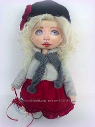 Интерьерная кукла Герда.