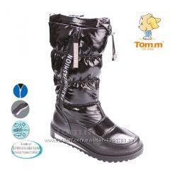 Сапоги ТОМ 3712B fashion Black 33-38