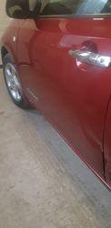 водительская дверь Nissan Leaf 2014