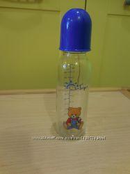 Бутылка для кормления стекло 250 мл.