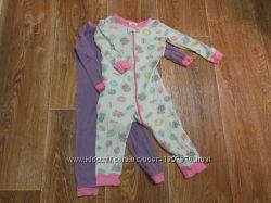 человечки пижамки для девочки 18-24 мес.