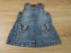 c83b826bf0c Классное джинсовое платье Levis для девочки 6 месяцев