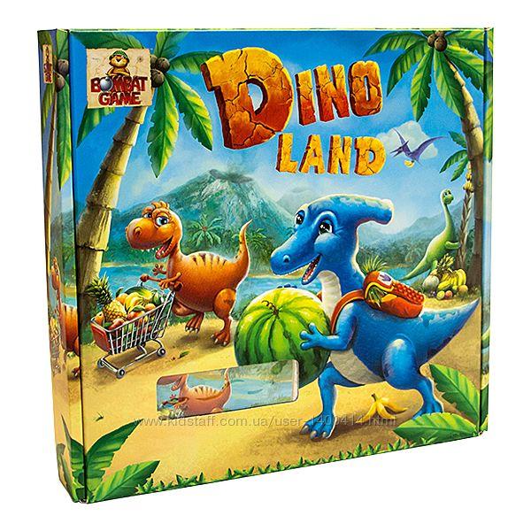 Дино Ленд, Dino Land - Веелая семейная игра-путешествие