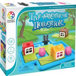 Три поросенка Smart Games - Развивающая детская игра