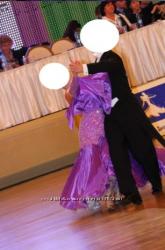 Платье для бальных танцев, стандарт.