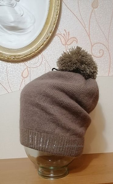 Зимняя двойная шапка, обхват 45 см
