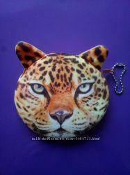 Кошелек-косметичка 3D животные