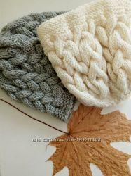 Зимние теплые шапочки.