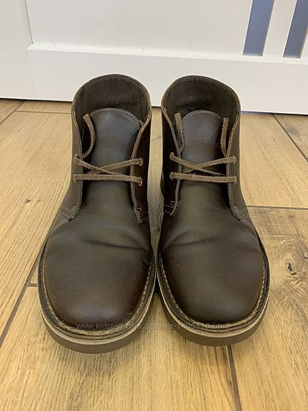 Ботинки кожаные Clarks 42,5 р.