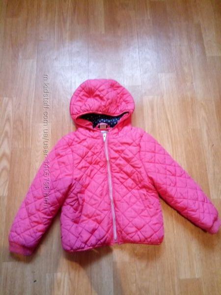 Куртка курточка демисезонная девочке TU