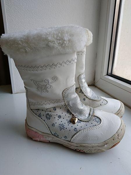 Зимние сапоги ботинки Шалунишка