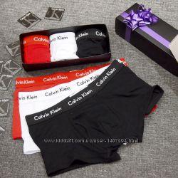 a83fed299f21 Подарочный набор трусов боксеров Calvin Klein 365 Collectio- 3 шт в ...