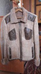 Крутая итальянская куртка дубленка