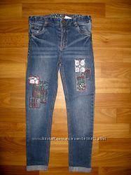 джинсы  девочке на 6-13 лет