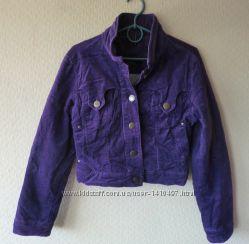Утепленная укороченная куртка-жакет Naf Naf Франция