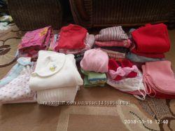 Пакет вещей на девочку 0-2 года
