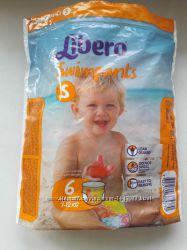 Подгузники, подгузники трусики для плавання Libero swimpants, размер S