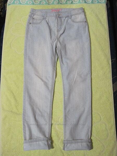 Новые летние джинсы для девочки LC Waikiki, р. 12-13 лет, рост 152-158 см.