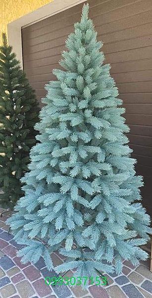 Искусственная голубая елка Буковинская   литая