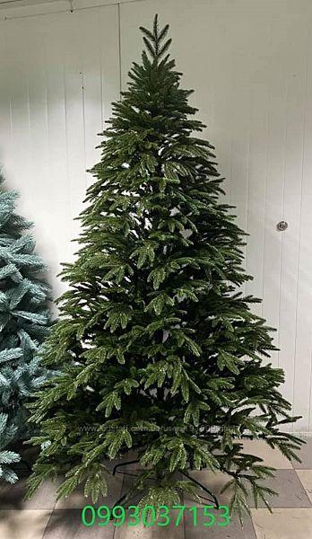 Искусственная зеленая елка Смерека литая