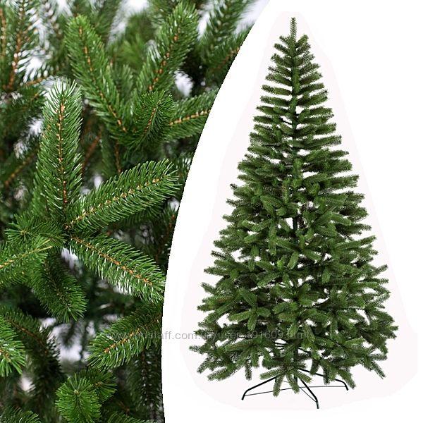 Литая искусственная елка Буковельская зеленая