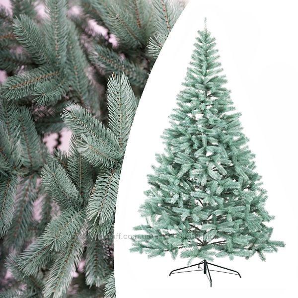 Литая искусственная елка Буковельская голубая