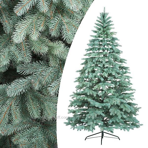Литая искусственная елка Ковалевская голубая