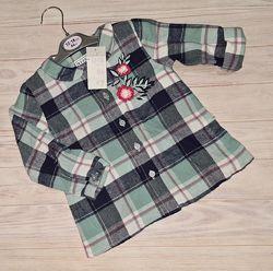 Рубашка Primark девочке 12-18 мес, 2-3 года