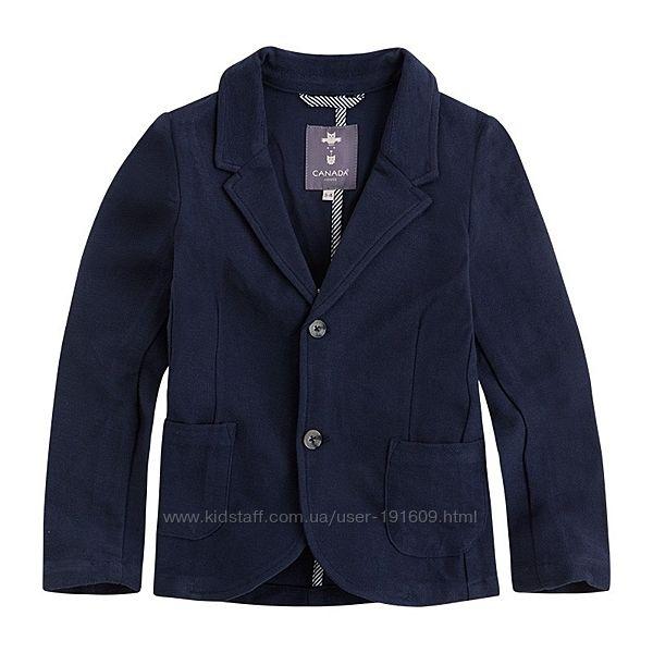 Стильный трикотажный пиджак Canada House мальчику 13-14 лет Испания