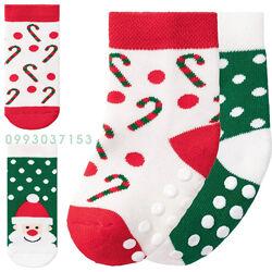 Детские носки новогодние махровые комплект 2 пары Lupilu 19-22, 23-26,27-30