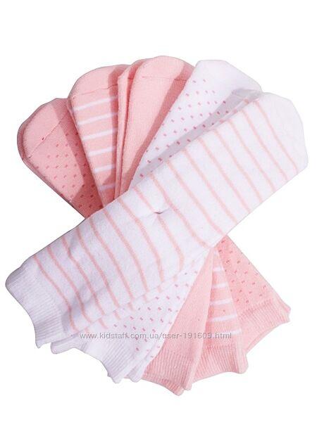 Детские носки махровые комплект 5 пар Lupilu Германия девочке 27-30