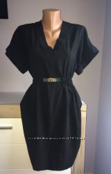 Элегантное чёрное платье Zara