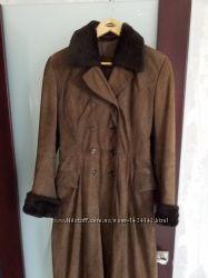 Кожаное деми  пальто  производство Австрия Upstar Continental  разм М