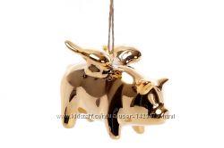 Подвеска игрушка Свинка-ангел 0197817