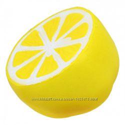 Сквиш - антистресс Лимон