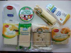 Сыр Эмменталь 400г. Италия