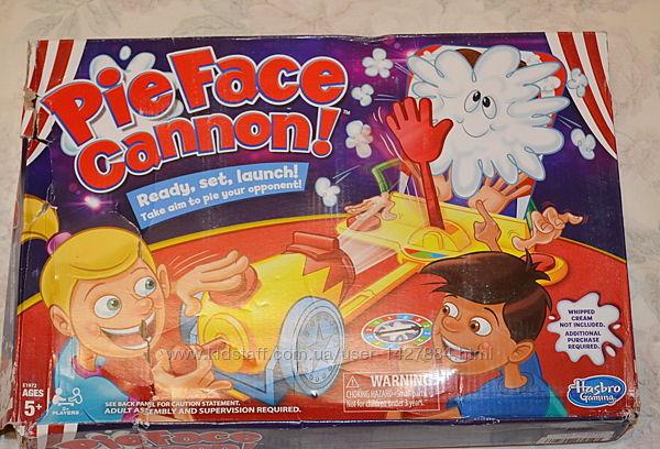 Pie face cannon, настольная игра
