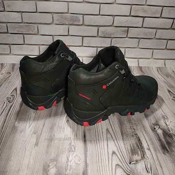 Мужские кожаные ботинки 00646