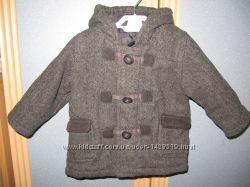 Стильное пальто George 9-12 мес