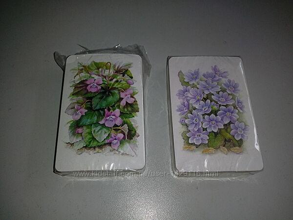 Карты игральные колода карт с цветами