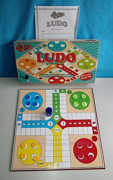 Настольная игра Людо Ludo Retro Games