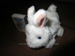 Новорождённый интерактивный кролик с функцией FurRealFriends Hasbro