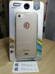 Фирменный силиконовый бампер iPhone 7, 8, 7 plus, 8 plus