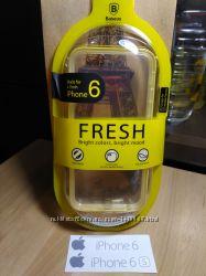 Фирменный силиконовый бампер iPhone 6 7 8 plus