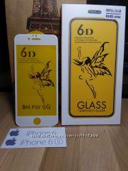 6D Premium защитные стекла iPhone