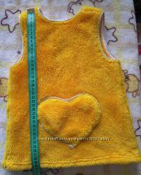 Тепленькое платье-сарафан