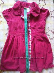 Платье-сарафан для девочки 18-24 мес.
